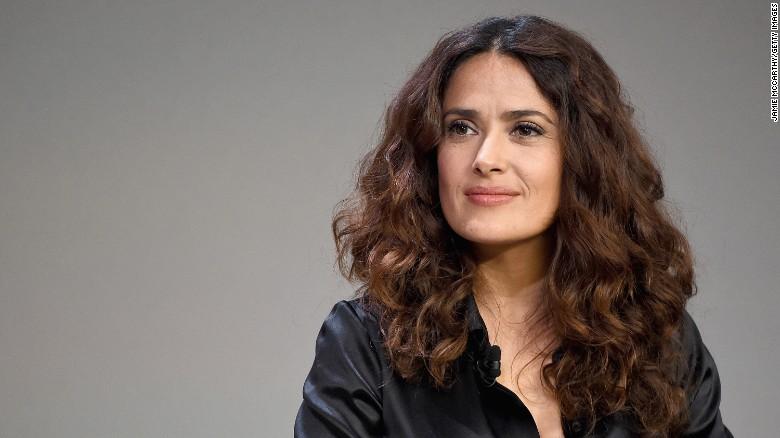 Salma Hayek revela ser víctima de Harvey Weinstein