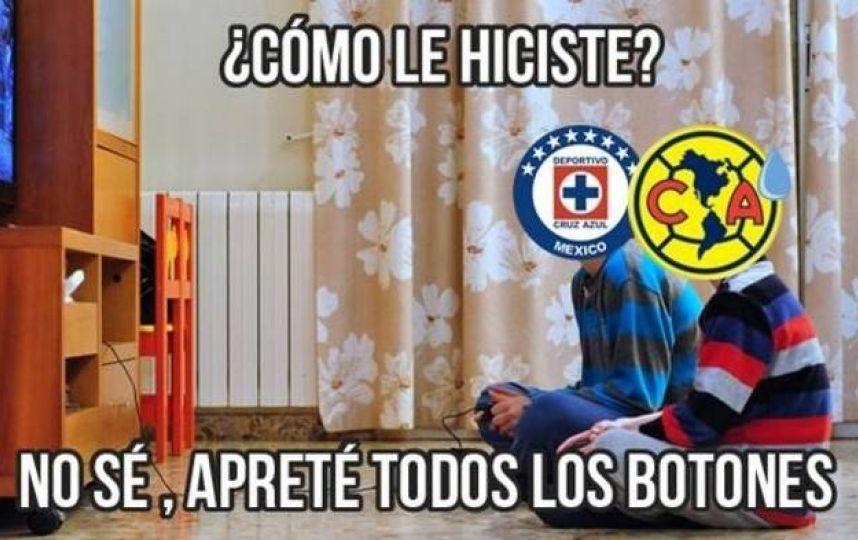 Los memes del Cruz Azul vs América - Noticias de Michoacán