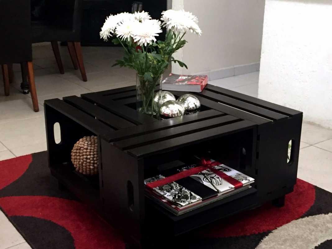 huacal como mueble