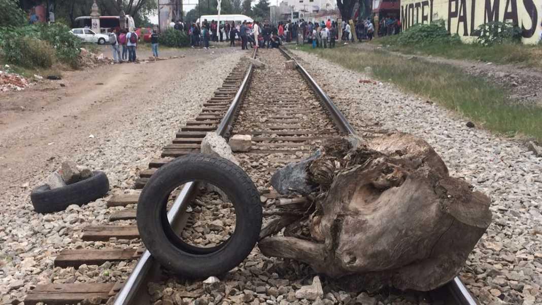 Consejo Indígena bloqueo vías tren