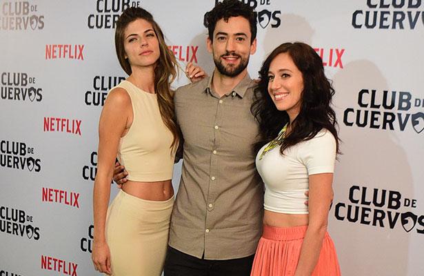 """Elenco de """"Club de Cuervos"""" presenta su última temporada"""