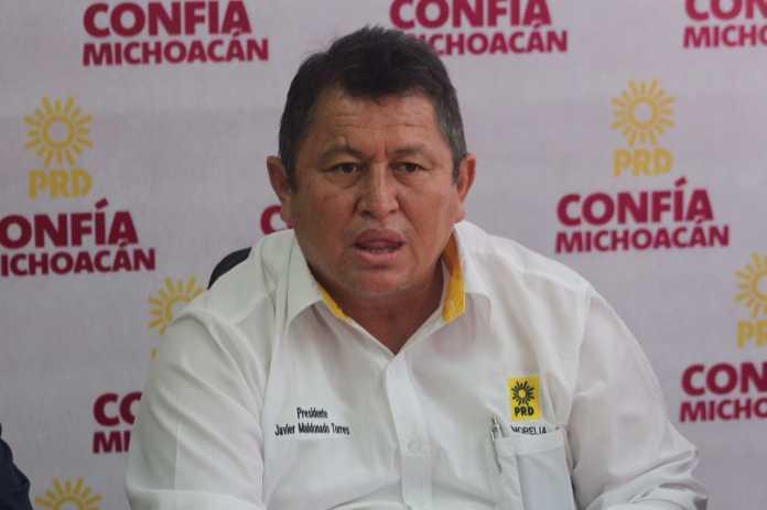 Permanecerá Maldonado al frente del PRD Morelia
