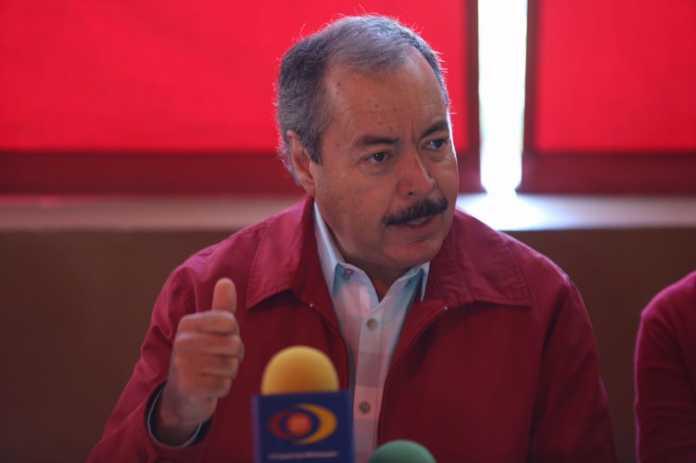 Falsa la renuncia del dirigente del PRI