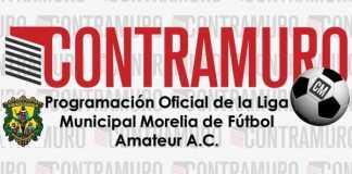 Programación Oficial de la Liga Municipal Morelia de Fútbol Amateur A.C.