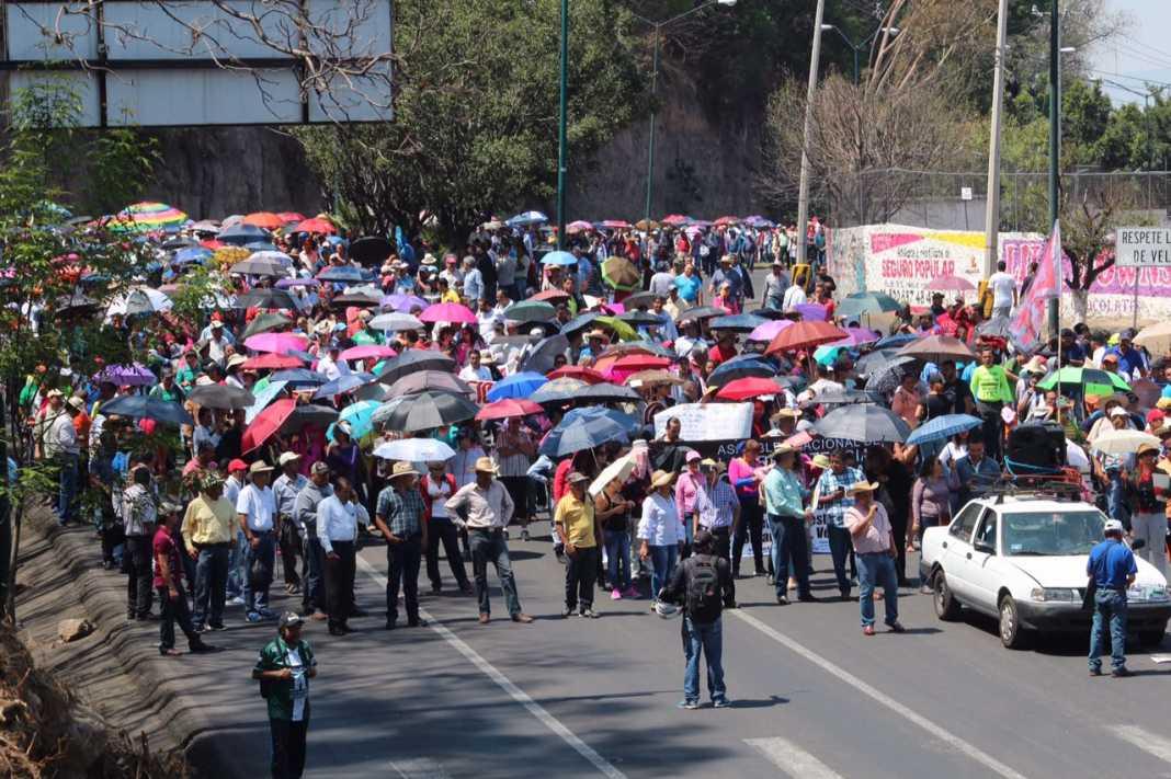 Anuncia CNTE marcha si no hay pagos