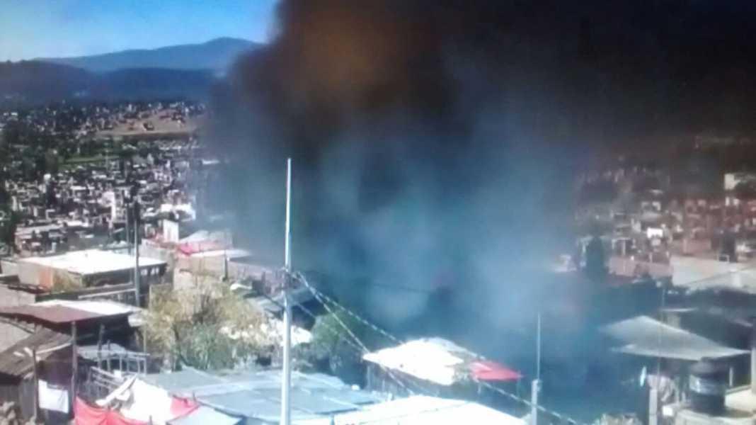 Incendio en ciudad jard n de morelia contramuro noticias for Centro de salud ciudad jardin badajoz