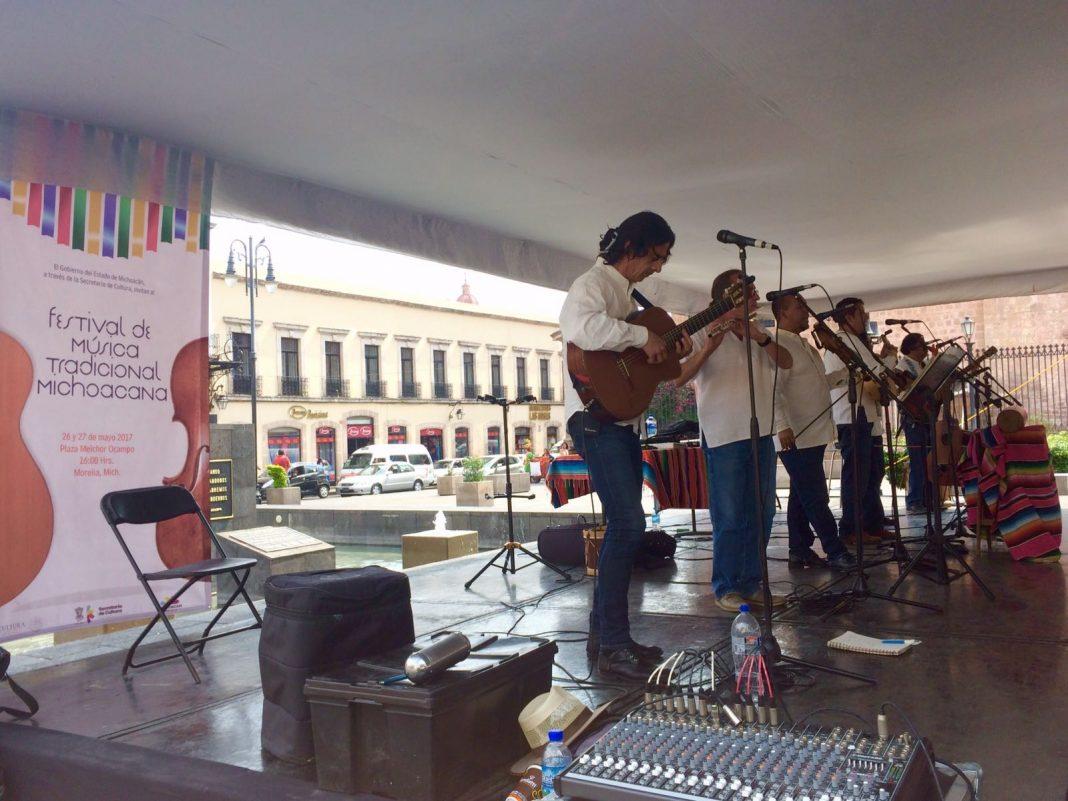 El centro como foco principal de actividades culturales en Morelia