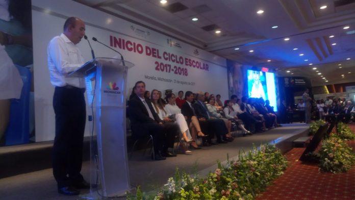 Michoacán, listo para iniciar el ciclo escolar 2017-2018: SEE
