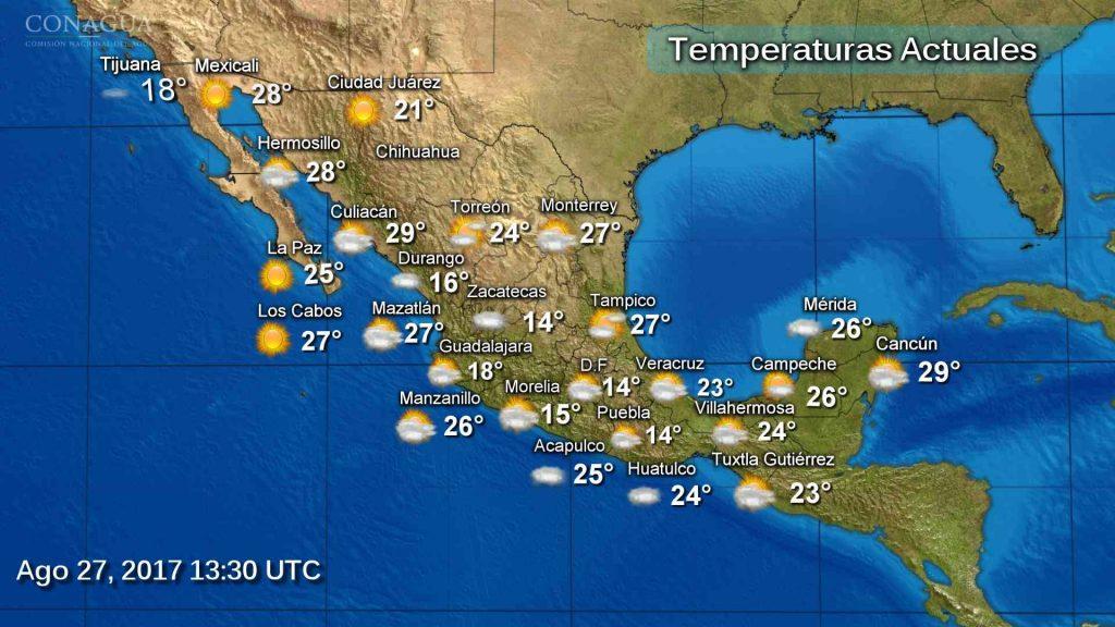 Para hoy se pronostican tormentas intensas en Michoacán y Guerrero