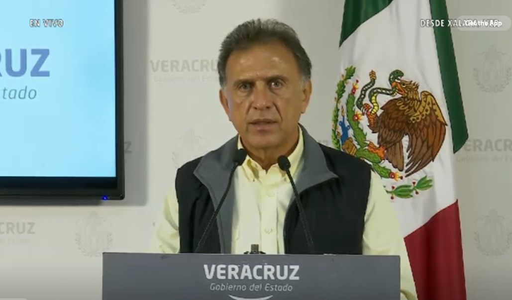 Gobernador de Veracruz recibe recurso recuperado