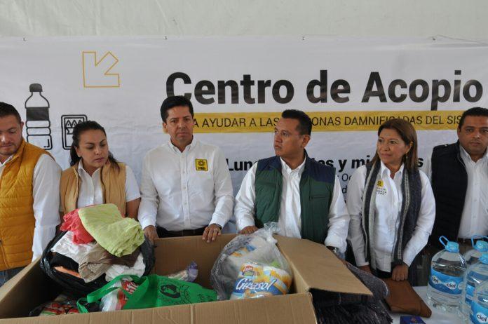 Exhortan a apoyar a damnificados y llevar víveres a Centro de Acopio