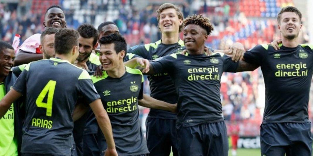 Hirving Lozano anota victoria del PSV