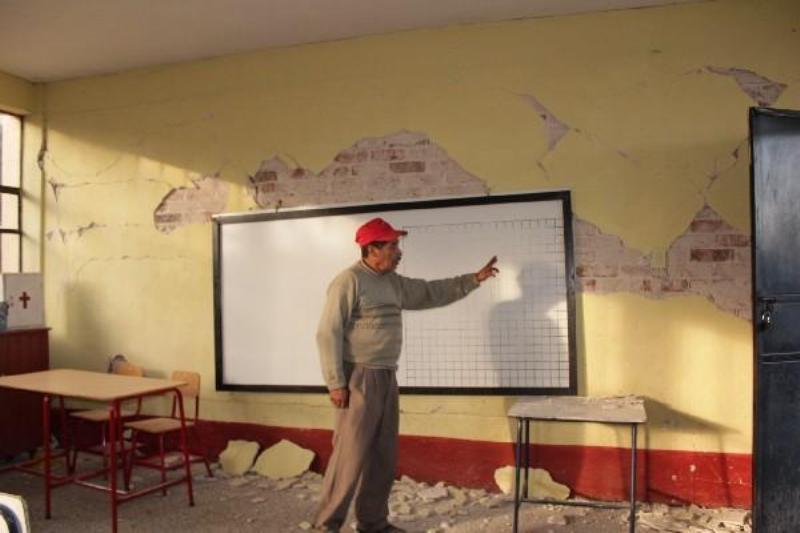 Invirtió SEE 26 mdp para rehabilitación de escuelas dañadas por sismo