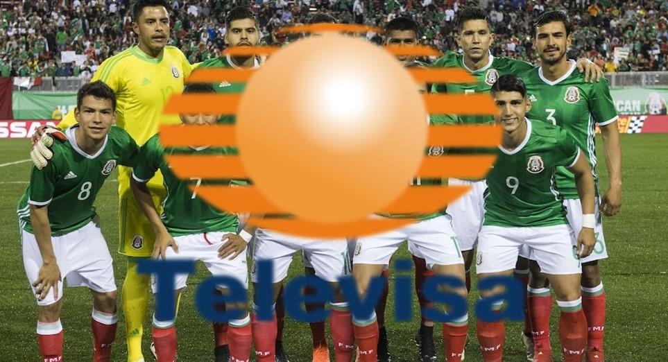 Televisa y TV Azteca mantienen derechos sobre selección mexicana