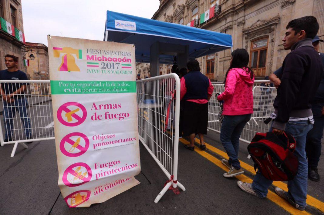 Reportan saldo blanco por festejos patrios en el Zócalo