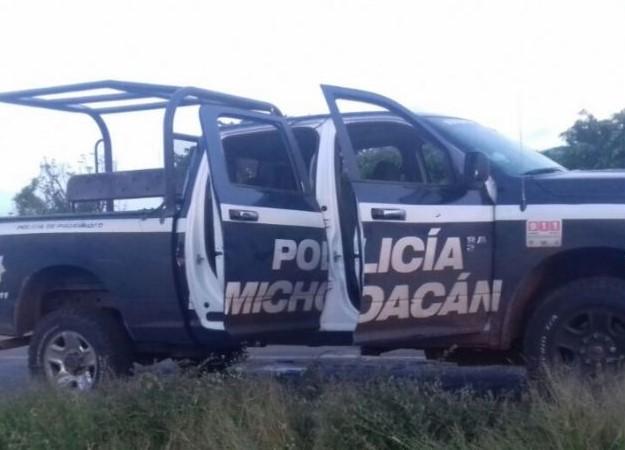 Emboscan a policías estatales en Ecuandereo; mataron a tres
