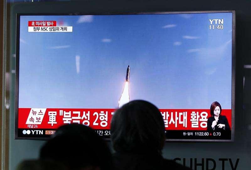 Corea del Norte lanza nuevamente un misil balístico en dirección a Japón