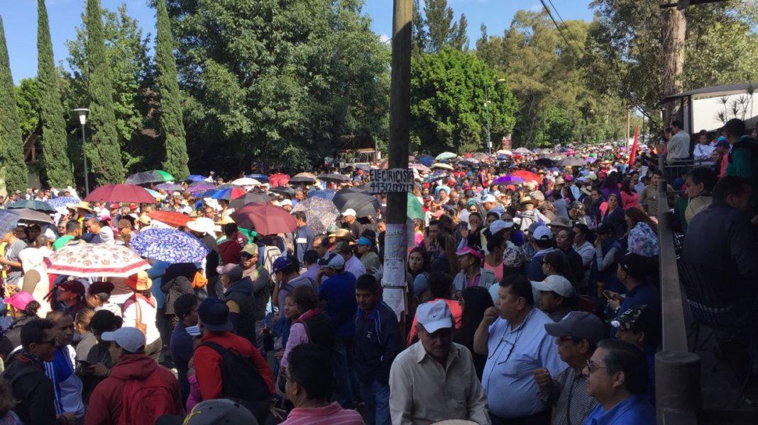 Marchará el magisterio michoacano este lunes en Morelia