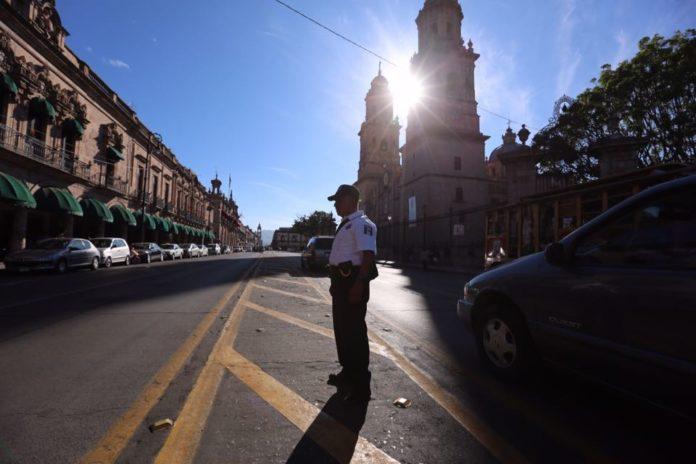 En febrero, 840 policías para Morelia
