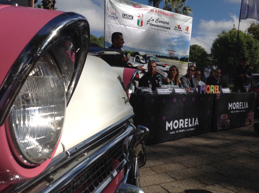 El 15 de octubre llega a Morelia la Panamericana