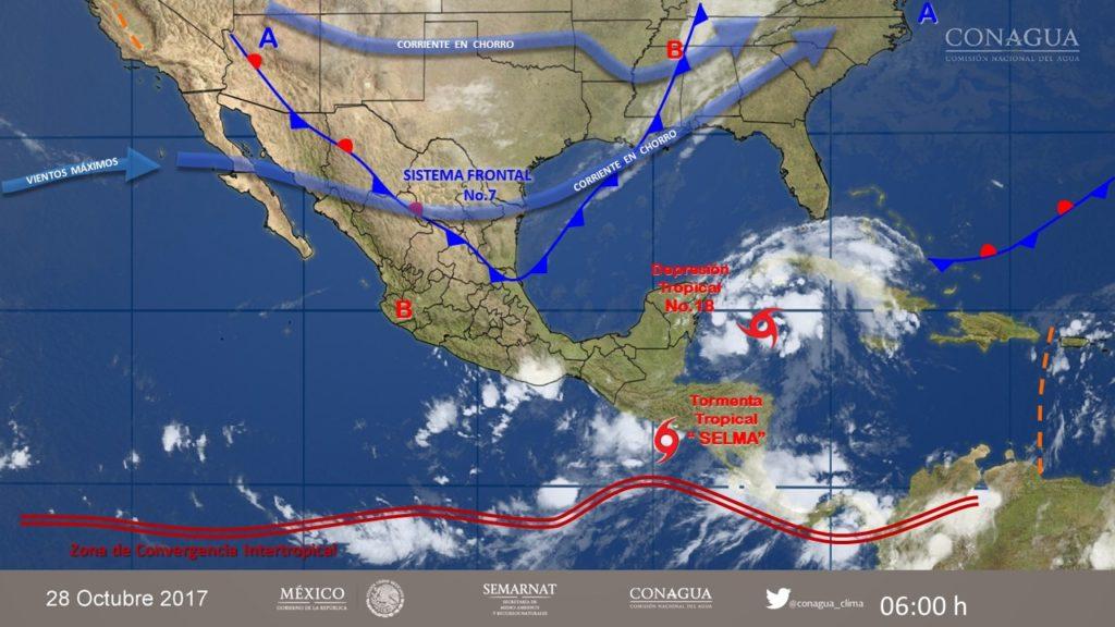 Entra nuevo frente frío a Chihuahua; provocará vientos fuertes