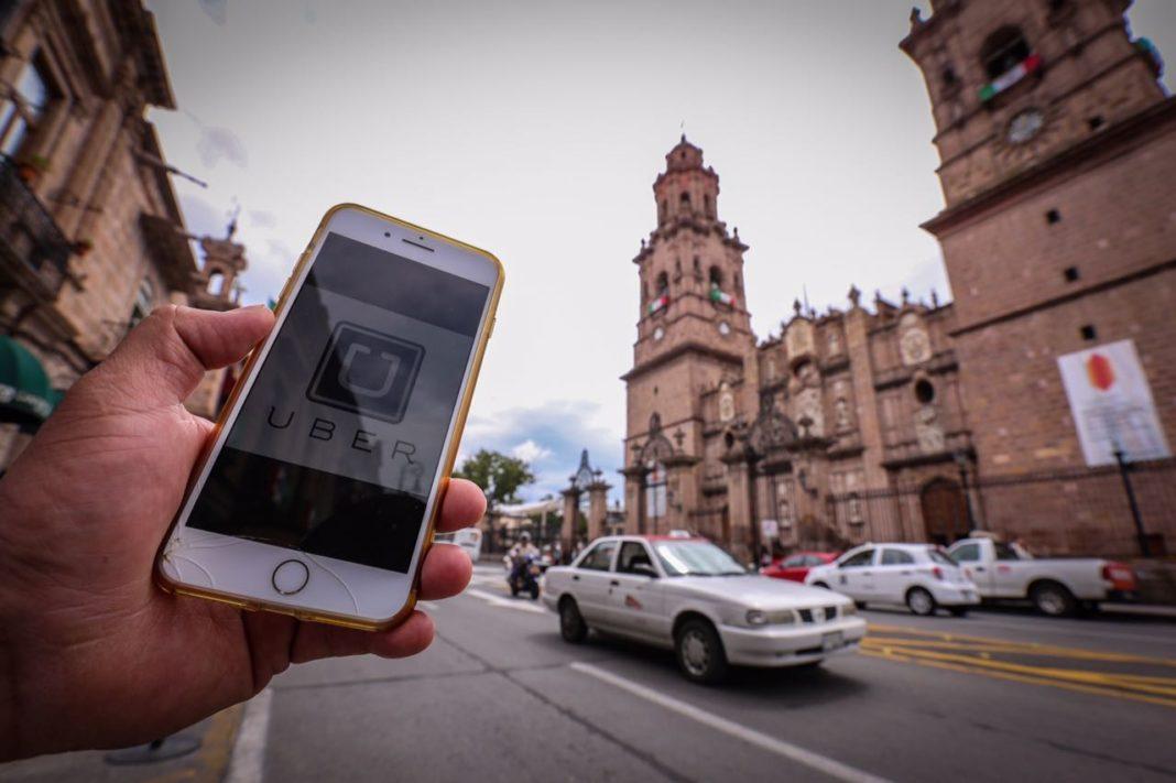 50 unidades de Uber retenidas en Morelia en lo que va del año