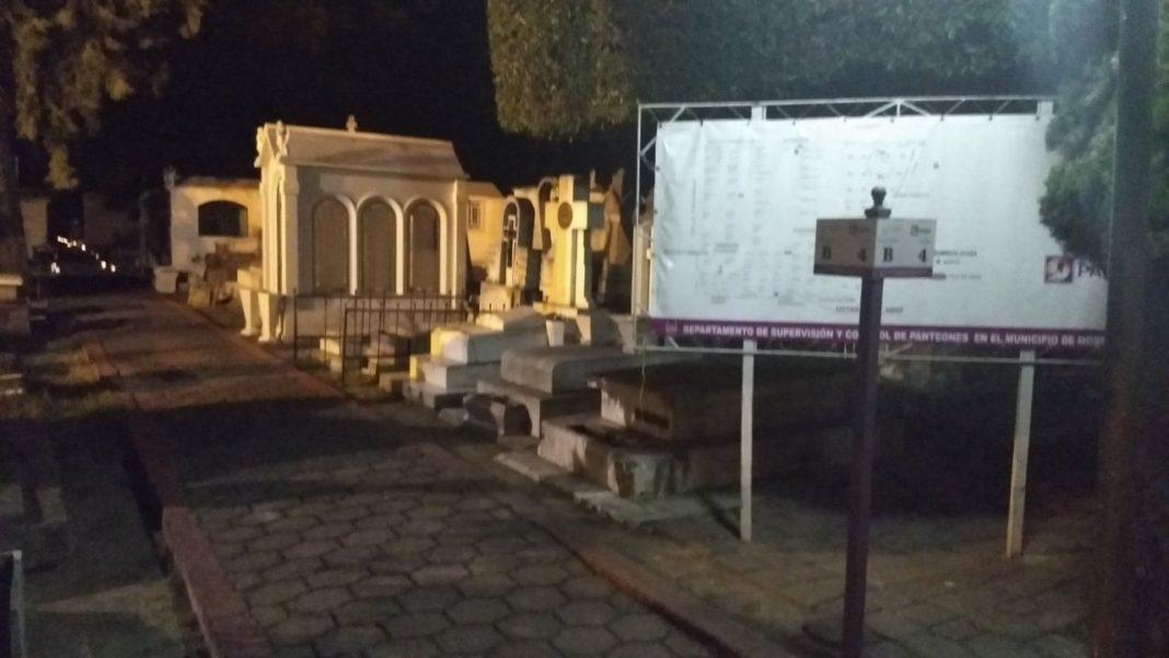 Arrancan recorridos nocturnos en Panteón Municipal de Morelia