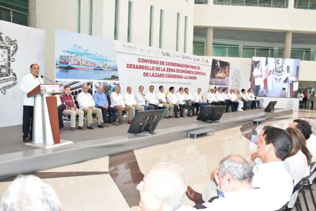 Proyección de 10 mil mdd en ZEE: Gobernador de Guerrero