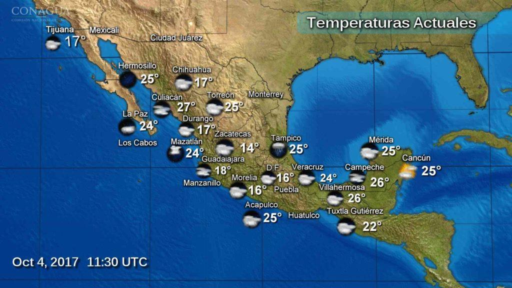 Por remanentes de 'Ramón', lloverá en gran parte del país