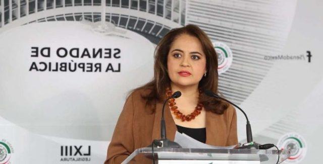 Expone Ana Lilia Herrera sobre la ley de seguridad