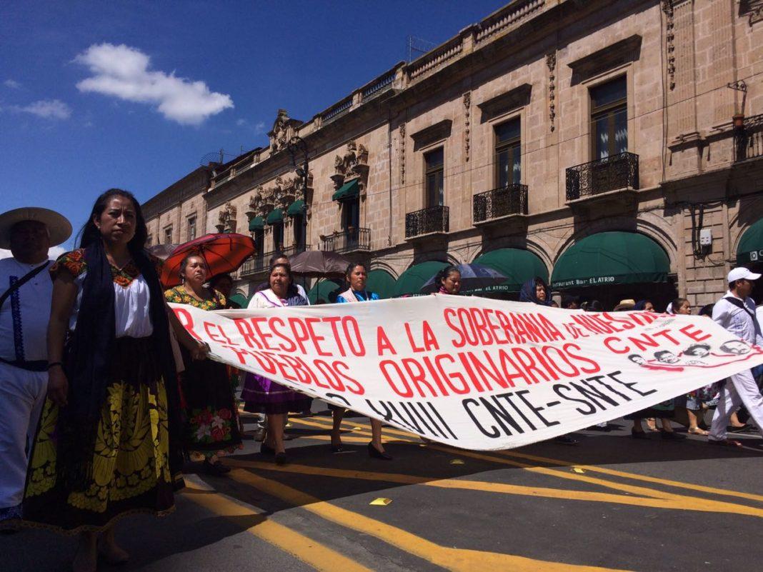 CNTE saldrá este martes a las calles; tome precauciones