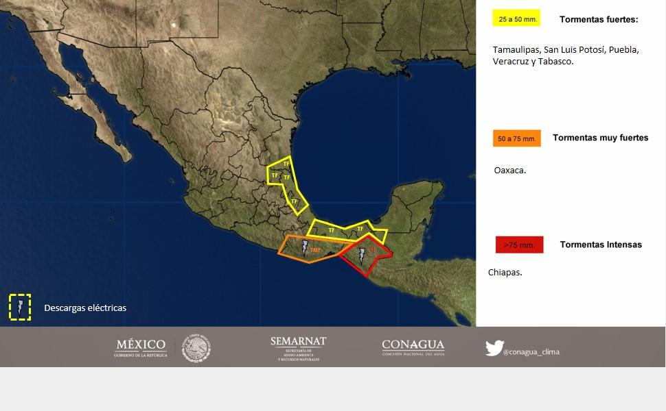 Habrá un nuevo decenso de temperaturas en la República Mexicana