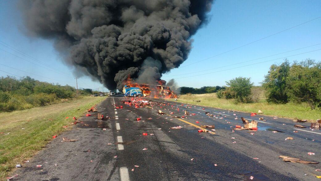 choque en Tamaulipas