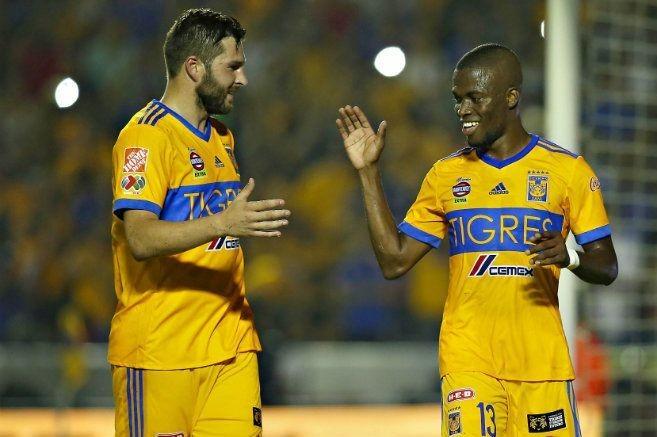 Tigres gana 1-0 a Necaxa y quiere el liderato