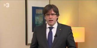 Rechazan dar prisión a Carles Puigdemont