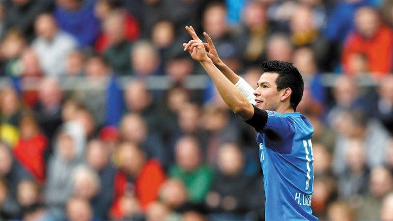 Anota Chucky su décimo gol en triunfo del PSV