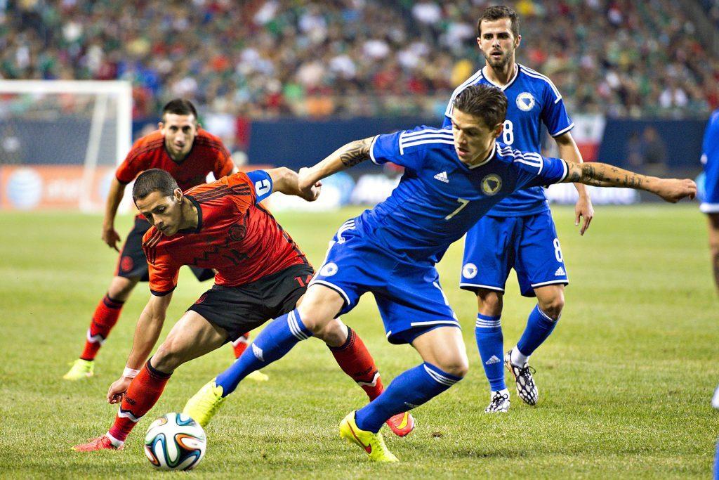 Selección Mexicana vs Bosnia el 31 de enero