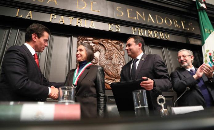 Medalla de Honor Belisario Domínguez 2017