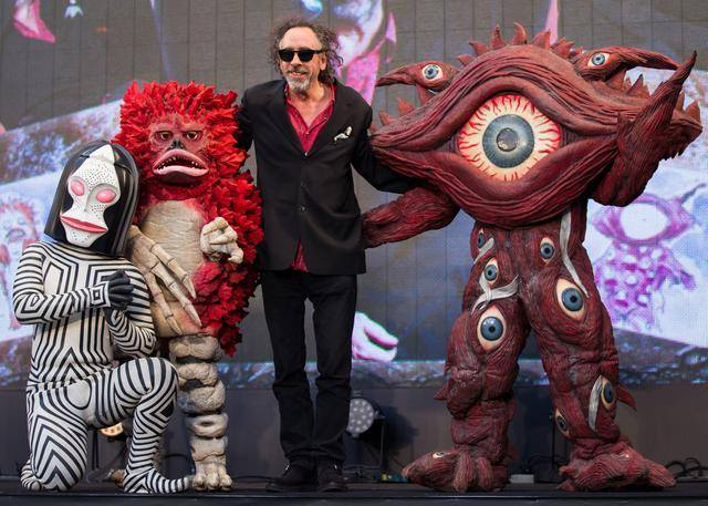 Tim Burton expone en México