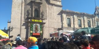 Morelianos piden a la Guadalupana interceda por ellos