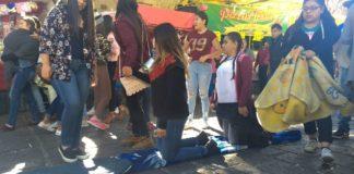 Con mandas, piden milagro a la Guadalupana