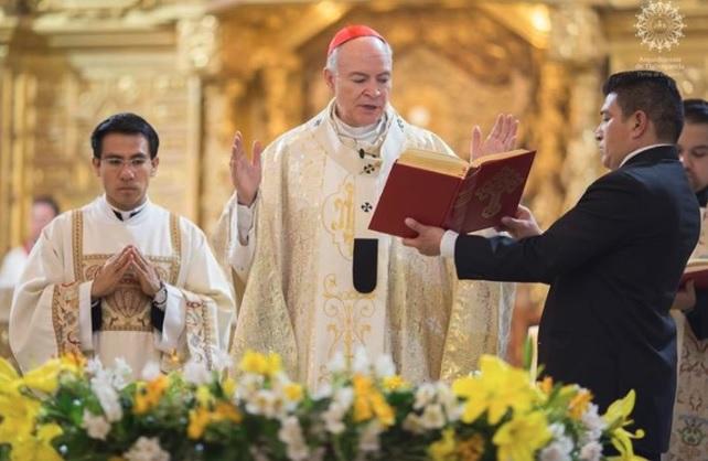 Aguilar Retes estará al frente de la Aquidiócesis Primado