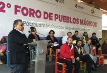 Alberto Colorado Estrada reconoce a los Pueblos Mágicos de Michoacán