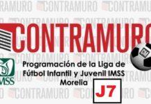 Programación de la Liga de Fútbol Infantil y Juvenil IMSS Morelia