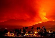 Famosos abandonan casas por incendio en California