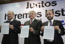 Surge la coalición entre Morena, PT y PES