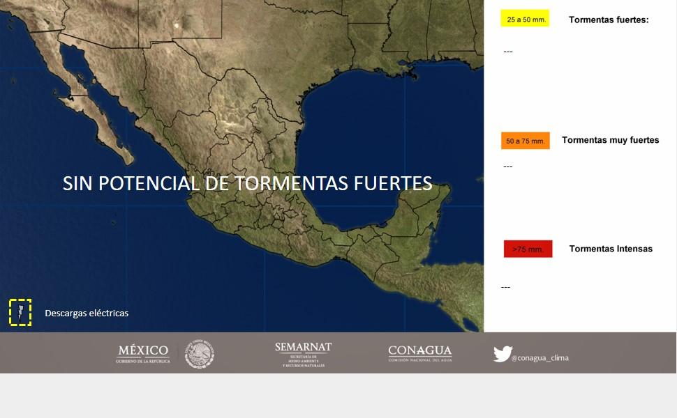 Frente frío 18 afecta a Chiapas