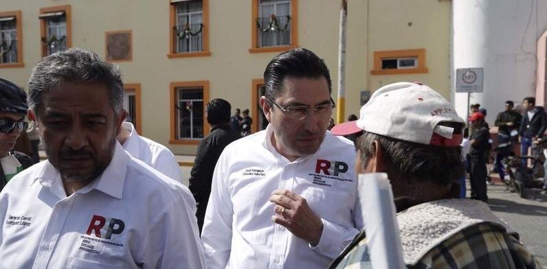 Fernando González Sánchez, es integrantes de Redes Sociales Progresistas