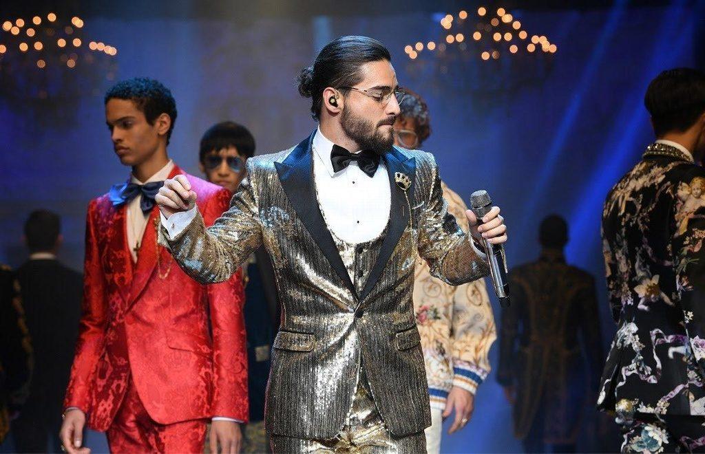 Maluma estará en el desfile de Dolce & Gabbana