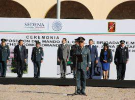 Gerardo Mérida Sánchez nuevo titular de la 21 Zona Militar de Morelia